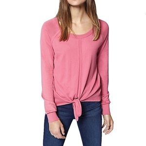🌵Sanctuary Laguna Tie Front Sweater Wild Salmon